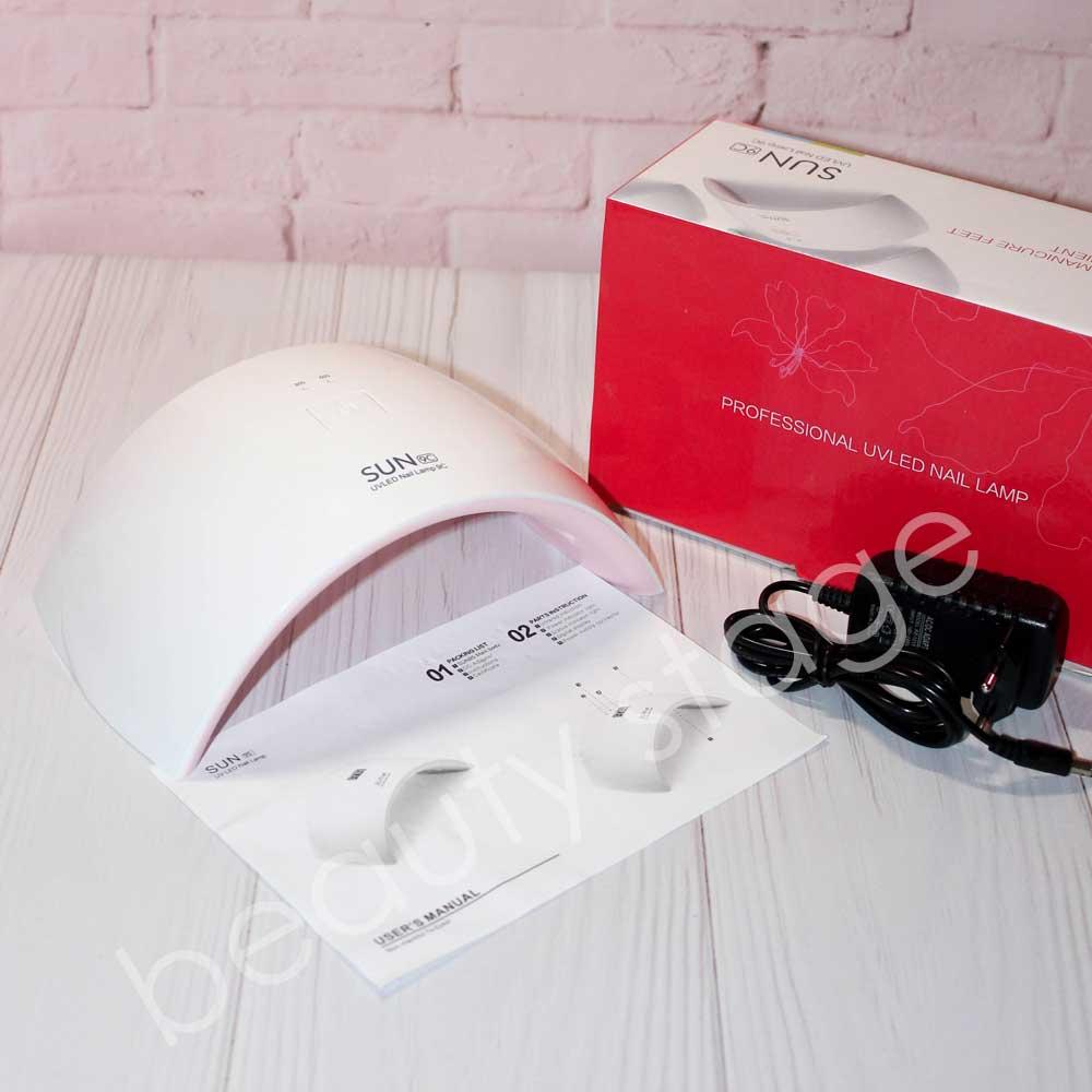 UV/LED SUN 9C лампа для гель лака и геля.